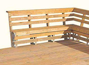 Best Deck Benches Design Ideas Deck Bench Building A Deck