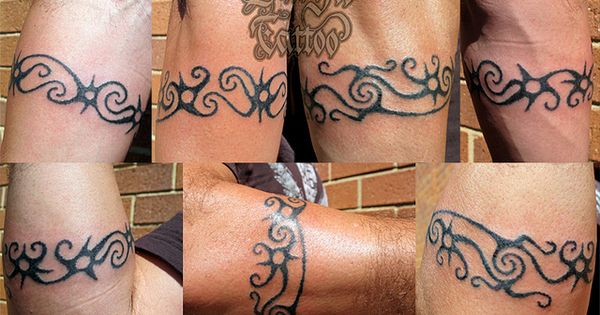 custom dayak armband by durgatattoo tatoo stuff pinterest. Black Bedroom Furniture Sets. Home Design Ideas