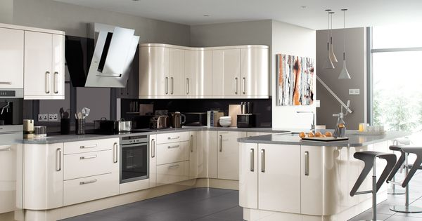 Complete high gloss kitchen units new colours oak white for 600 high kitchen wall units