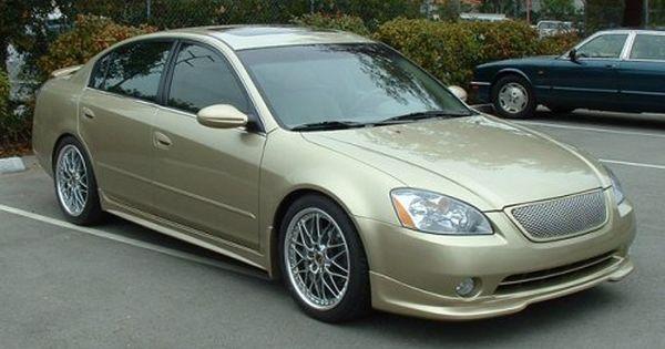 2003 Nissan Altima Stillen Lip 10 Nissan Altima Altima Nissan
