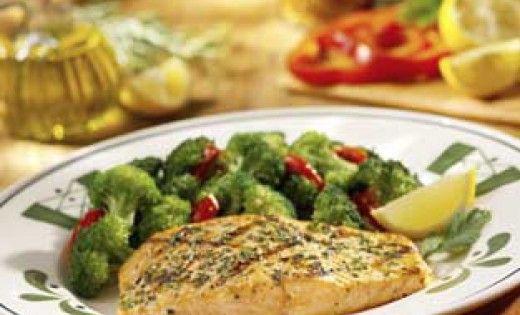 Olive Garden Herb Grilled Salmon Link To Their Gluten Free Menu At