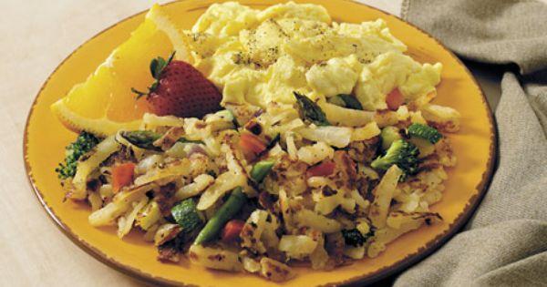 Simply Potatoes Garden Veggie Hash Browns Recipe Hashbrown Recipes Simply Potatoes Recipes Simply Potatoes