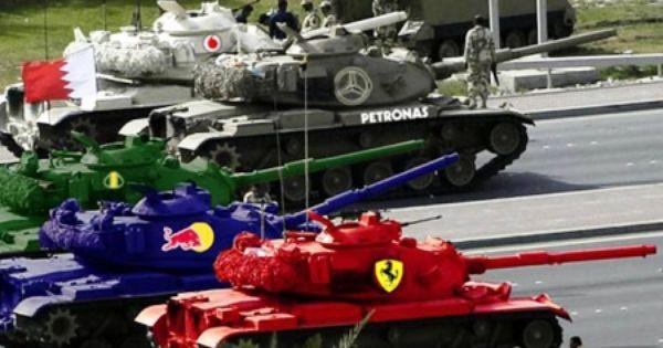 Ferrari Tank Monster Trucks Military Vehicles Ferrari