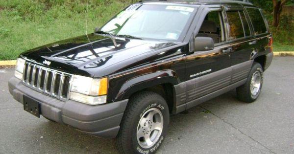 Awesome 1998 Black Jeep Grand Cherokee