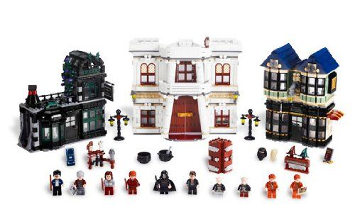 Expand Your Very Own Wizarding World Of Harry Pottertm No Need To Pass Through The Leaky Ca Harry Potter Diagon Alley Lego Harry Potter Harry Potter Lego Sets