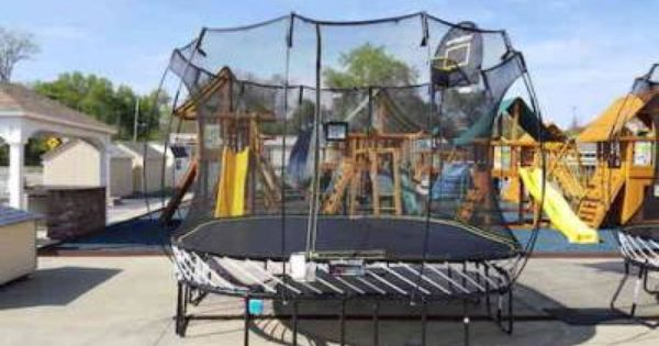 New Digital Gaming Trampolines Now Available At Best In Backyards Backyard Trampoline Safe Trampoline