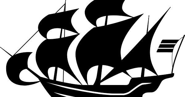 Sailing Ship Silhouette Free Svg Ship Silhouette Silhouette Pictures Sailing Ships
