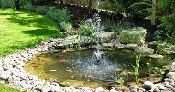 17 Best ideas about Garden Ponds on Pinterest Pond ideas Ponds