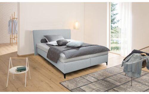 Boxspringbett Kirksville Modernmoments Farbe Silber Meliert Liegeflache 140 X 200 Cm Matratze Hartegrad Bett Boxspringbett