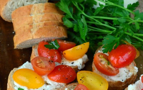 Ricotta, Tomatoes and Katie o'malley on Pinterest