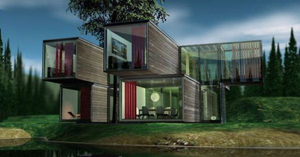 Better Homes And Gardens Shipping Container House Google Search Container Ship Pinterest