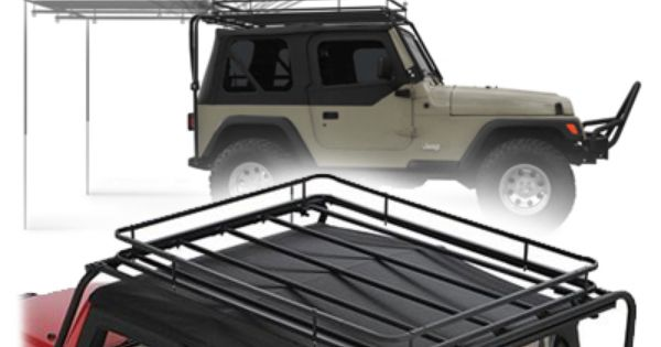 Olympic 4x4 Products Dave S Rack In Rubicon Black For 87 95 Jeep