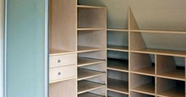 einbauschrank beleuchtung dachboden und einbauschrank pinterest aufbewahrung irgendwann. Black Bedroom Furniture Sets. Home Design Ideas