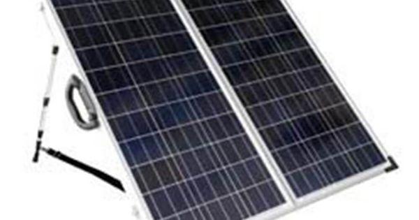 Solarland 120w 12v Portable Folding Solar Charging Kit Slp120f 12s Best Solar Panels Solar Panels Solar