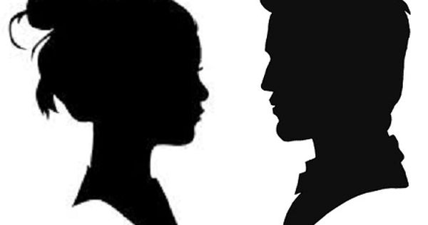 Pics For Gt Wedding Silhouette Png Silhouette Face Silhouette Drawing Silhouette