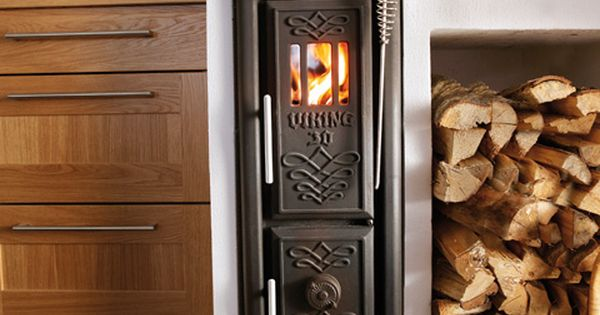 Scandinavian Wood Burning Stove ... I Must Have One Of