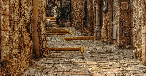 inside the old city of Rhodes, Greece. This place was awesome to