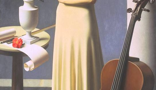 "Meredith Frampton, ""Portrait of a Young Woman"" (1935) (Tate Modern, 12 July"