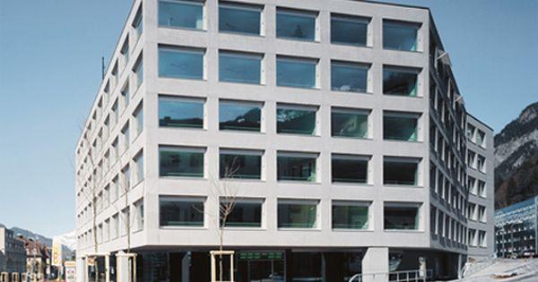 Stadthaus Und Medienzentrum Srg Rtr Chur Architektur Stadtebau