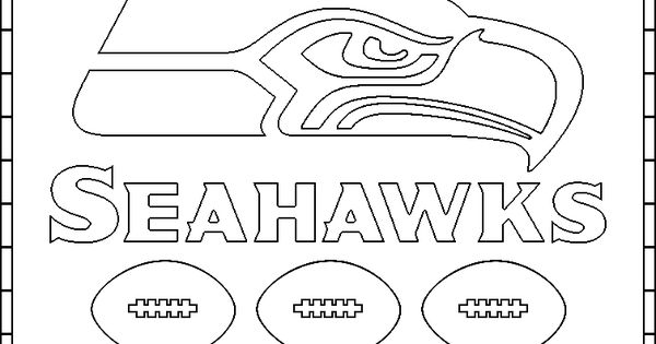 seattle seahawks printable page | Seahawks Logo Coloring ...