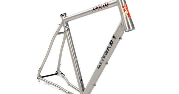 2019 Gr 270 Titanium Gravel Bike Gravel Bike Bike Seat Tube