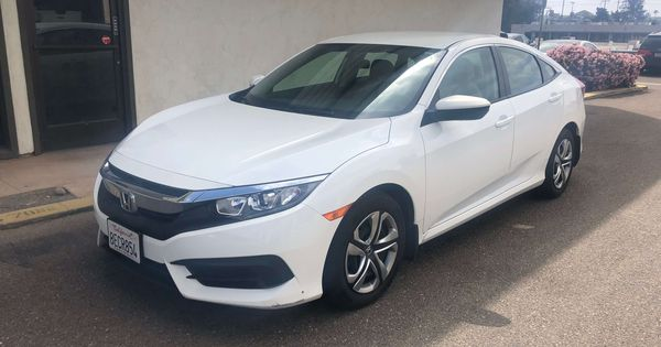 Rental Car Honda Civic Ex 2018 In San Diego Longtermcar Com Honda Civic Honda Civic Ex Honda