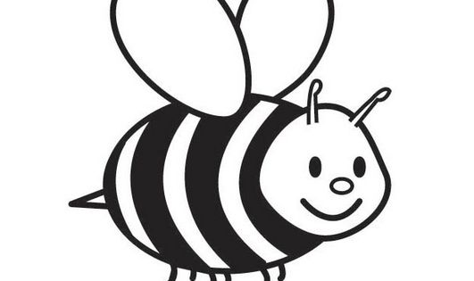 Free Printable Bumble Bee Coloring Pages For Kids Bee Coloring Pages Bee Printables Coloring Pages