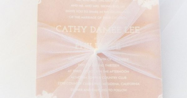 Los Angeles Wedding Invitations: Perfectly Elegant Los Angeles Wedding