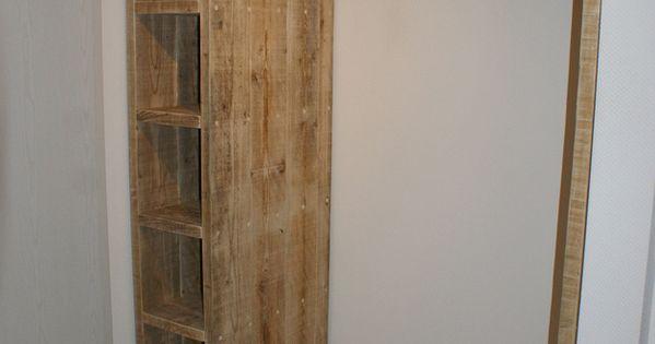 garderoben bauholz garderobe ein designerst ck von. Black Bedroom Furniture Sets. Home Design Ideas