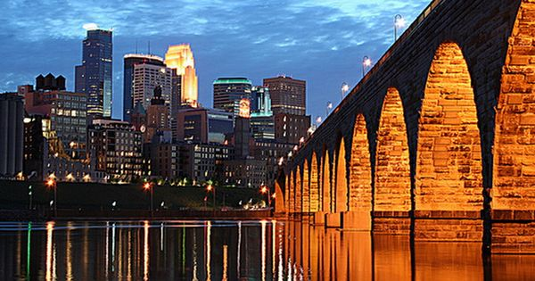 Home sweet home. MPLS and the Stone Arch Bridge.