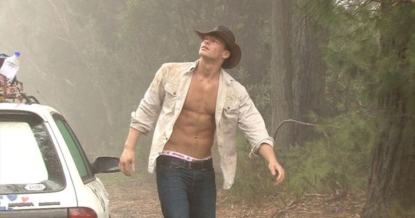 Patrick Giz Aka Ryan Kutcher On The Set Of An Aussiebum