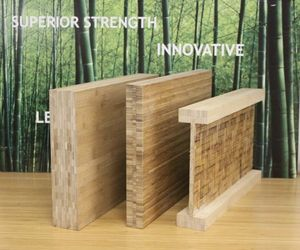 Lamboo Structure Laminated Bamboo Beams Sustainable Bamboo