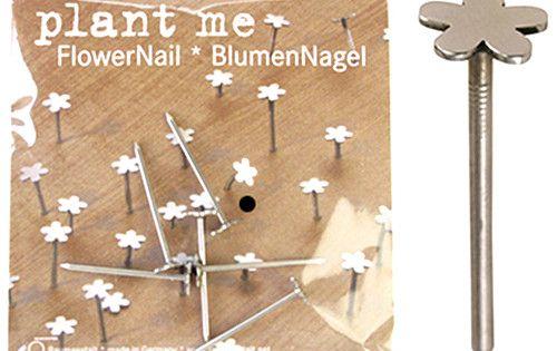 Flowerhead nails, by Raumgestalt, via Design*sponge