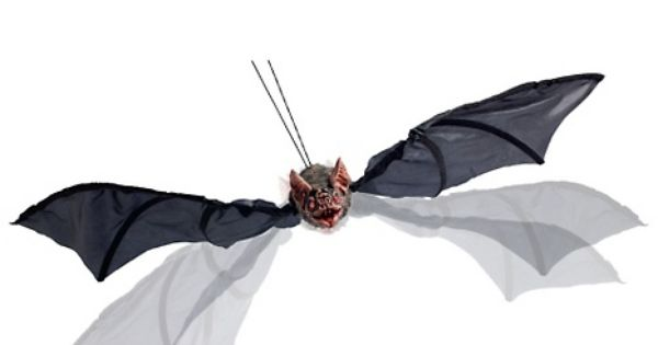 Grandin road animated flying bat at hsn for Animated flying bat decoration