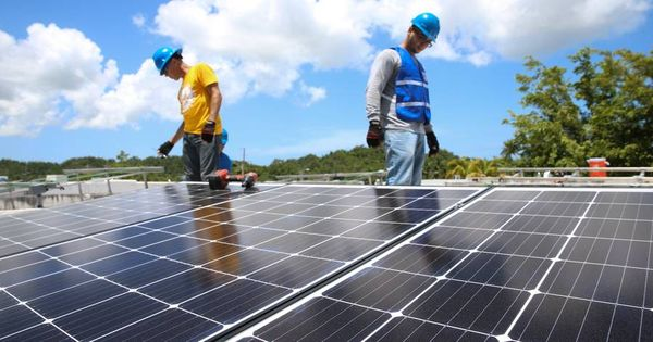 Weary Of Power Outages Puerto Ricans Find Solace In Solar Solar Energy Information Solar Solar Power House