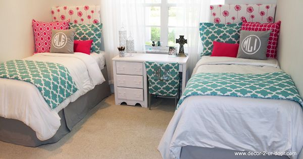 Pink Spirit Blue And Grey Design Ur Own Coordinating Dorm