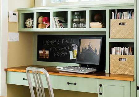 great built in desk. (Seven things that cost more to keep then