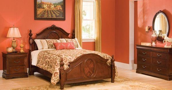 Regency 4 Pc Queen Bedroom Set Bedroom Sets Raymour And Flanigan Furniture Mattresses