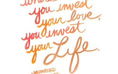 mumford & sons quote for programs