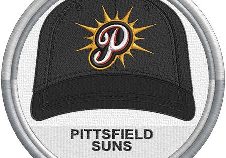Pittsfield Suns Baseball Cap Hat Sports Logo Uniform Futures Collegiate Baseball League Minor Lea Minor League Baseball Baseball League Logo Uniforms