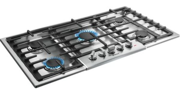 Bosch 800 Series 36 Built In Gas Cooktop Stainless Steel Angle Zoom Stainless Steel Cooktop Gas Cooktop Cooktop