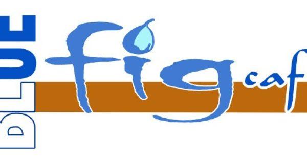 إعادة تصميم لشعار مقهى التين اﻷزرق Blue Fig Cafe بالرياض Cal Logo School Logos Logos