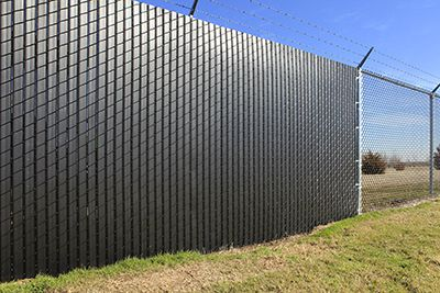 Plain Ideas Chain Link Privacy Fence Easy Preslatted Chain Link