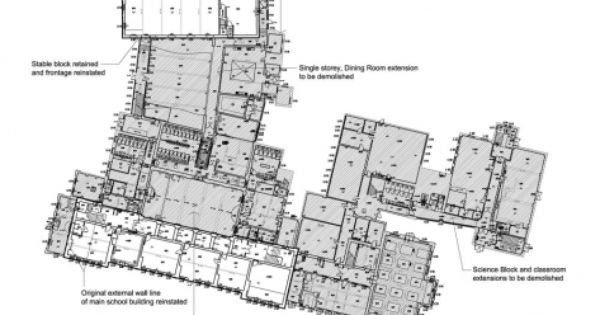 Building Demolition Drawing : Demolition plan as built plans pinterest