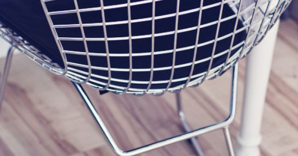 Harry bertoia wire chair decoracion pinterest for Muebles de oficina knol