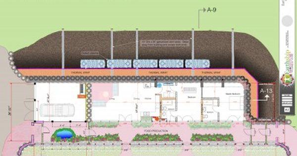 Earthship Home Floor Plans: New Wide Greenhouse Global Model
