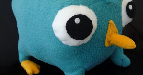 Perry the Platypus plush by ~cloudstrife597 on deviantART ...