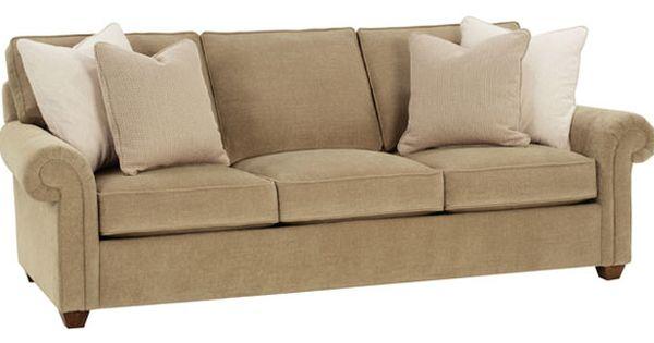 Ellie Grand Scale Oversized Fabric Deep Seat Sofa Club Furniture Rowe Furniture Furniture Upholstered Sofa