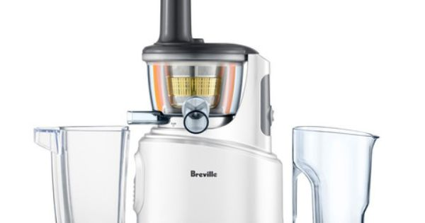 Breville Bjs600xl Fountain Crush Masticating Slow Juicer Bed Bath And Beyond : Breville Juice Fountain Crush BSJ600XL Reviews Juice and veggies