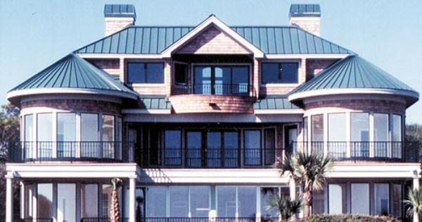 Dream home with a standing seam metal roof dutch seam for Dream homes international